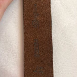Brighton Accessories - Brighton Tooled Leather Belt looking 4 a buckle